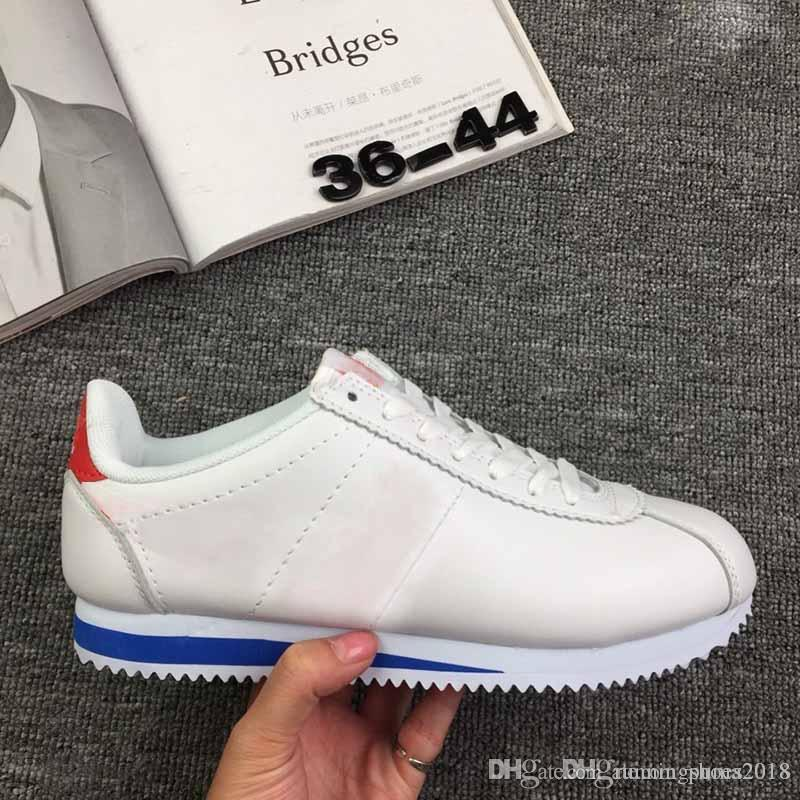buy online 85306 e48fa 2019 Cortez shoes mens womens Casual shoes sneakers huaraches sale leather  original cortez ultra moire walking shoes sale 36-44