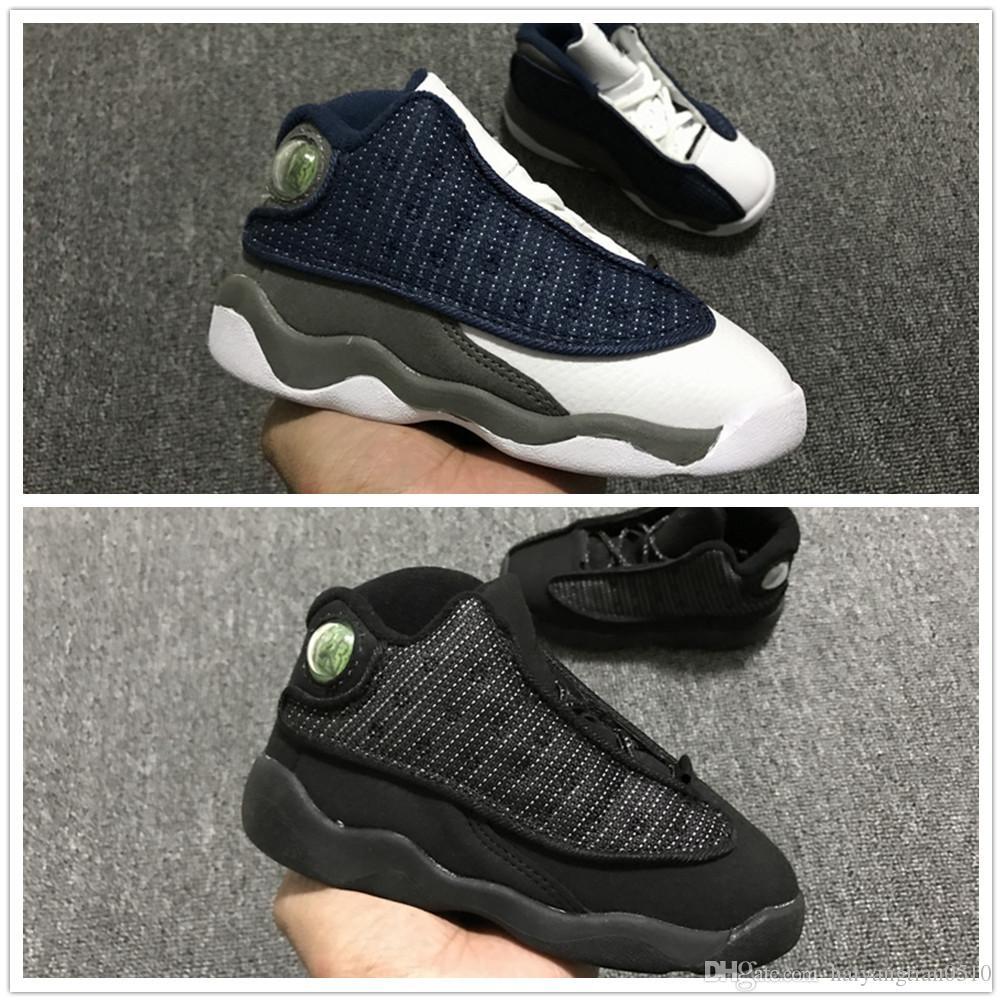 7cf80134642 Compre Nike Air Jordan Aj13 2018 Nuevo 13 Bebé Niños Zapatos De Baloncesto  En Venta 13 S Niño Deportes Zapatillas Niños Y Niñas Niños Zapatos  Deportivos ...