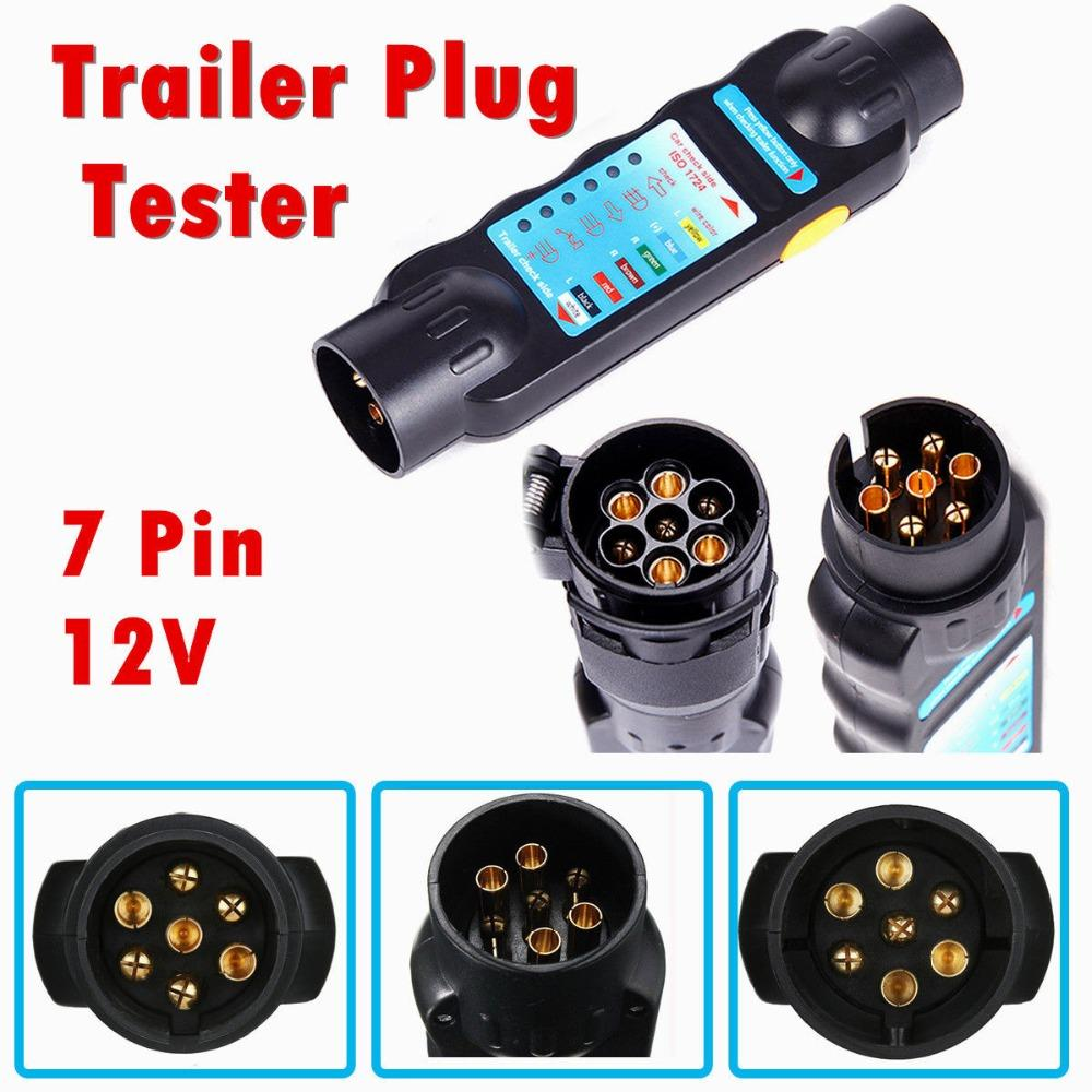 2019 Car Trailer Truck 7 Pin Towing Lights Plug Ampsocket Wiring A For Cable Circuit Tester Styling From Suozhi1997 1532