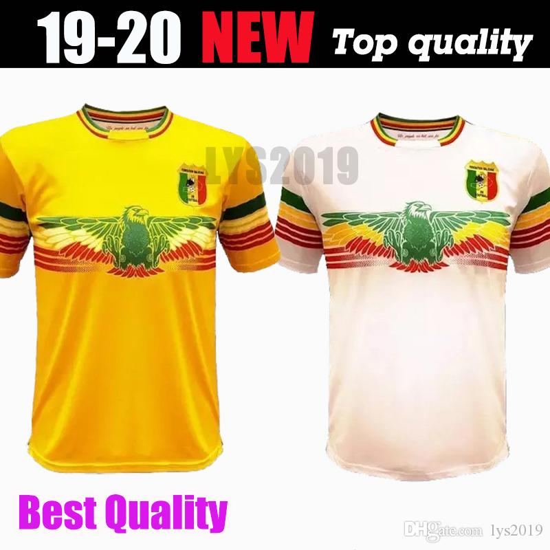 eb0249e56e2 2019 2019 2020 Mali Home Soccer Jersey Concept Football Shirt Les Aigles Du  Mali Can 19 20 Maillot Domicile Top Thailand Quality Customize From  Lys2019