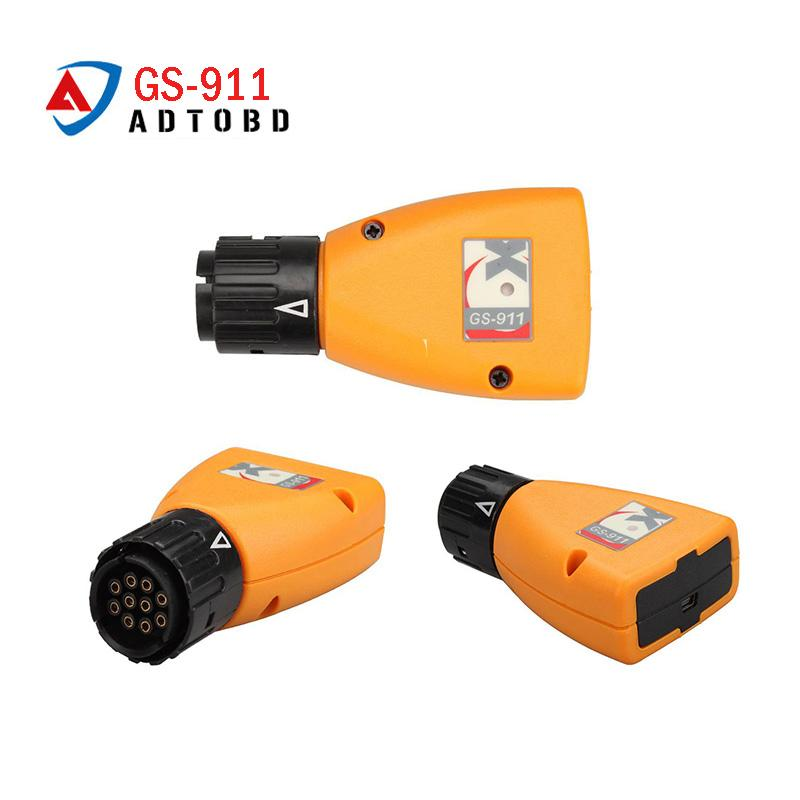GS-911 V1006 3 Emergency Professional Diagnostic Tool For BMW Motorcycles  GS911 super function factory price