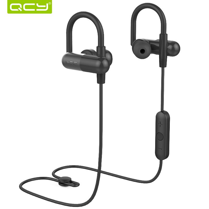 QCY QY11 HiFi 3D Stereo Earphones Bass Music Headset Bluetooth 4.1 Wireless  Headphones Sports Ear Hook For Ios Android In Ear Headphones Marshall  Headphones ... ede9ccb2ee