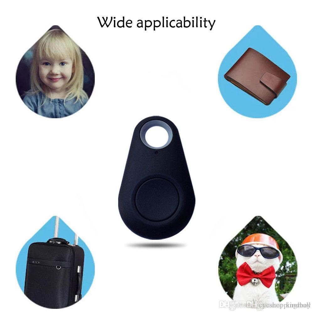 2017 Wireless Phone Bluetooth 4.0 GPS Tracker Alarm iTag Key Finder Voice Recording for Anti-lost Selfie Shutter For ios Android Smartphone