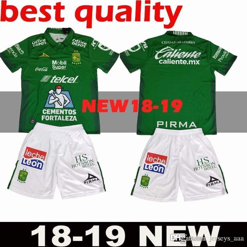 a0e87686879 Thai quality leon kit home soccer jersey football shirt leon jersey outdoor  shirts size can mixed