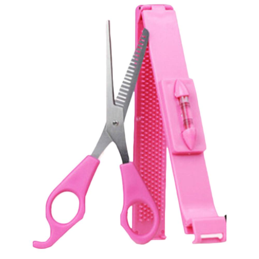 DIY Tools Makeup Artifact Style Hair Cutting Guide Layers Bang Hair Trimmer Clipper Clip Comb Fringe Cut