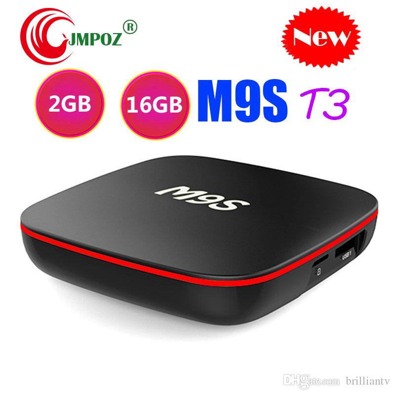 Hot M9S T3 Android TV Box Allwinner H3 Quad Core 1GB 8GB 2GB 16GB 4K H 265  1080P Video Streaming IPTV TV Boxes Better A95X TX3 H96 S905W