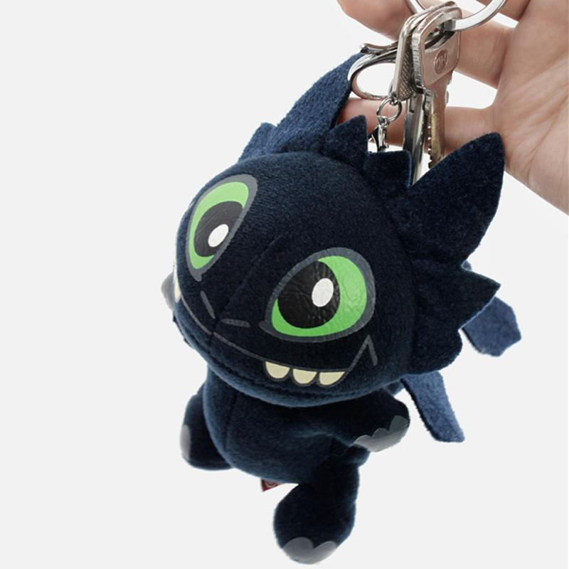 How to Train Your Dragon 3 TOOTHLESS Plush Doll Toys Coin Purse Keyring Keychain