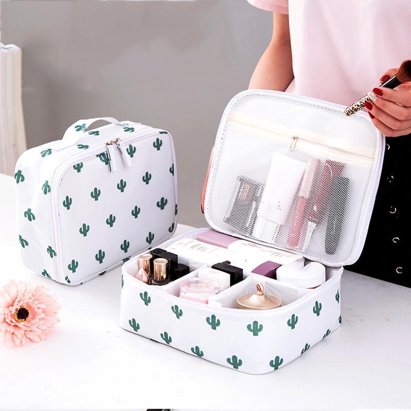 d978f12ba5b2 Organizer Portable Cosmetic Bag Man Women Travel Toiletry Wash ...