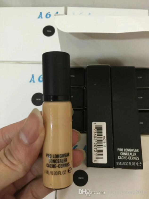 M Brand NEW Makeup Liquid Foundation PRO LONGWEAR CONCEALER CACHE-CERNES 9ML Foundation NC NW Colors Drop Shipping