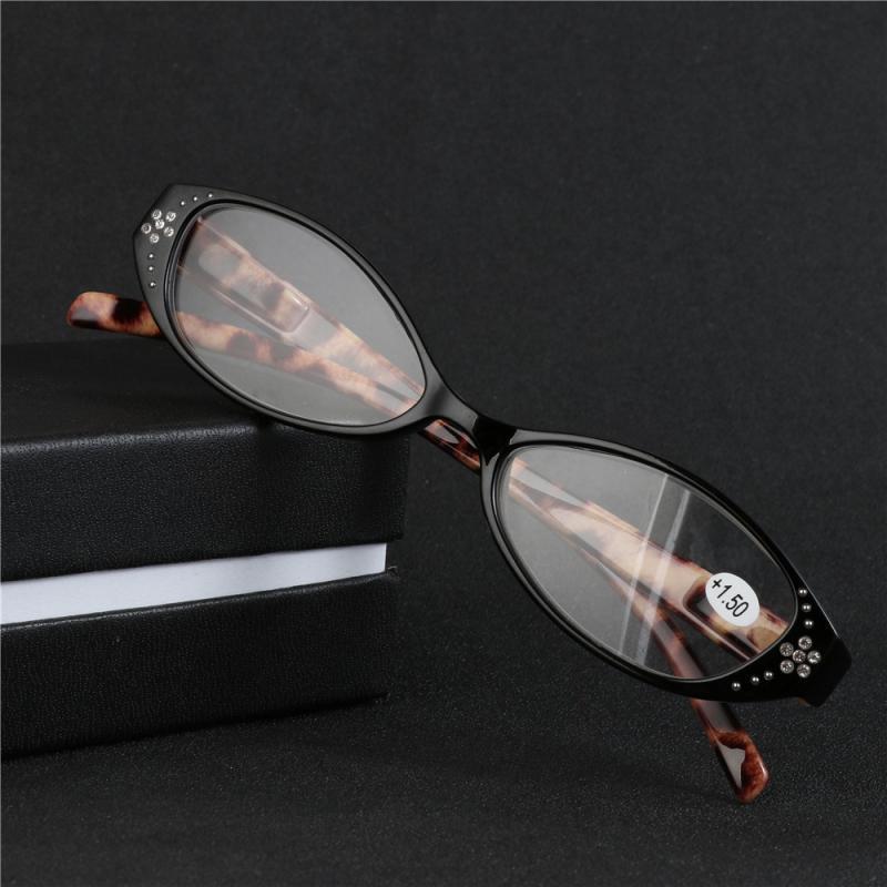 e9afe687a7 Men Women Leopard Print Presbyopic Glasses Eyewear Reading Glasses ...