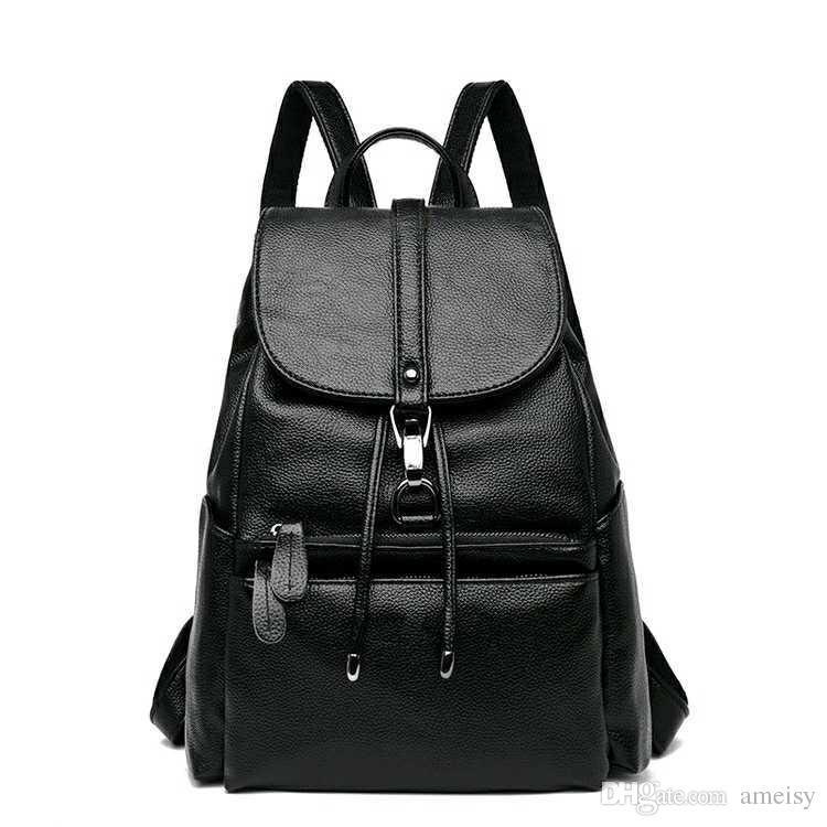New Arrival Women S Backpack Women Pu Leather Female Backpacks Teenager School  Bags Mochila Feminina Rucksack Mochilas Mujer Back Pack Mochilas Jansport  ... c4dd53fdf42b4