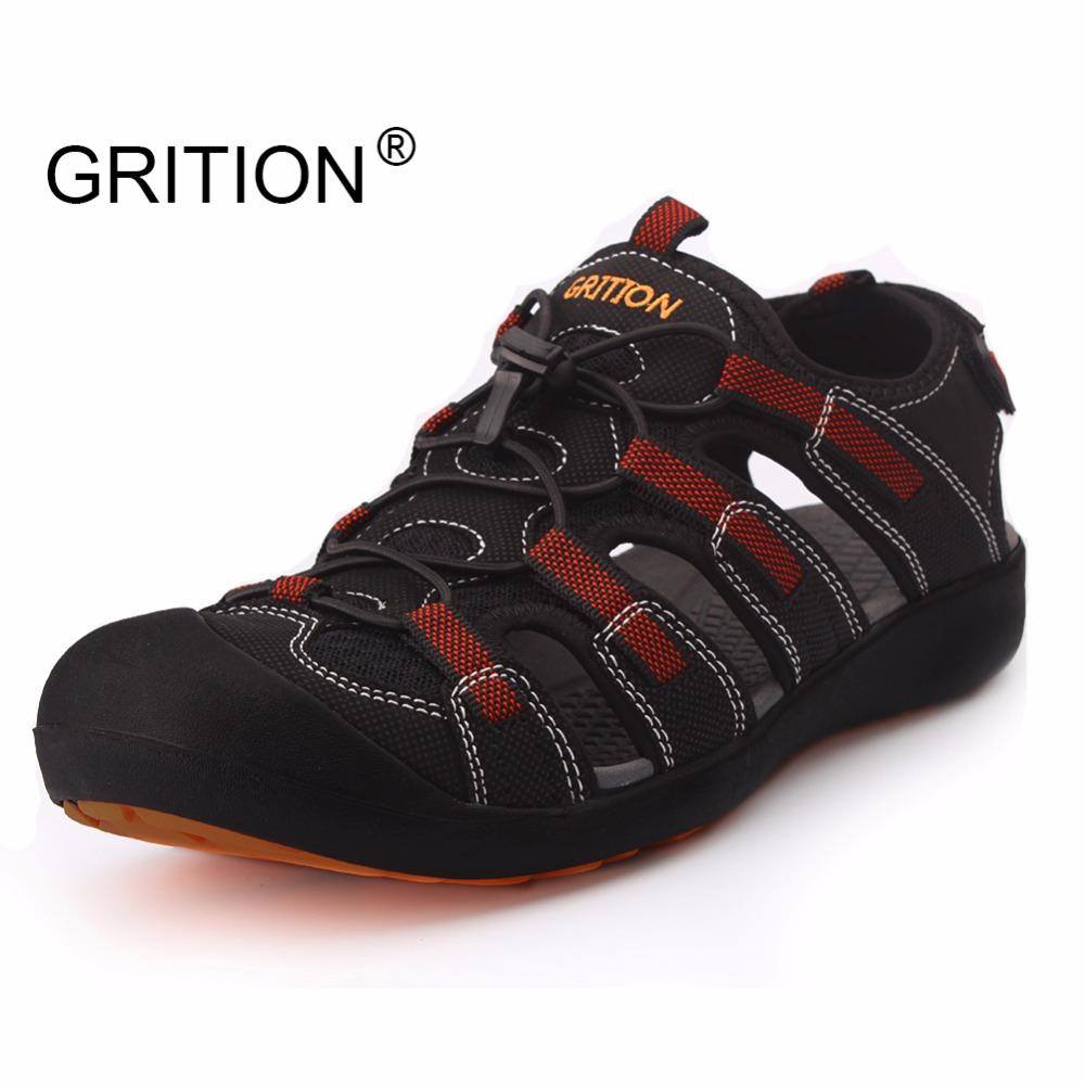 Grition Hombres Aire Libre Sport Senderismo Secado Protector Hombre De Sandalias Zapatos Toecap Rápido Verano Al oxdWerCB