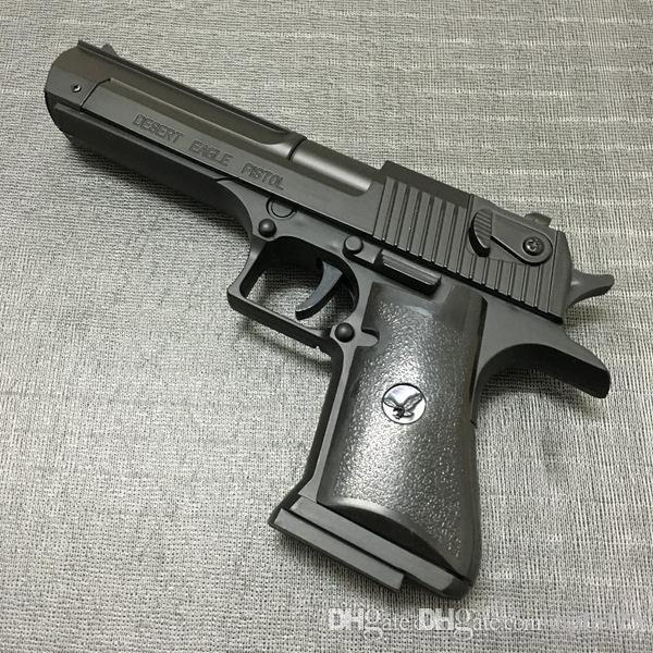 Large Metal Desert Eagle Beretta Pistol Lighter M92F Simulation Model Lighter 1: 1 Metal Revolver Type Gun Lighter