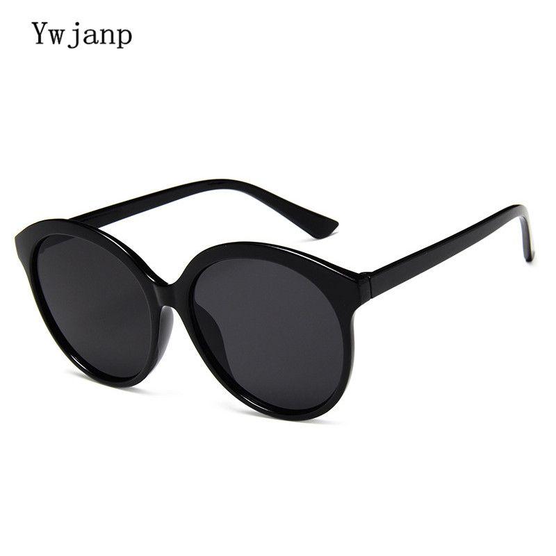 063896e3e1 Ywjanp Glasses Women Men Sunglasses Round Plastic Frame Brand Designer  Mirrored Eyewears Retro Females Male Sun Glasses UV400 Retro Sunglasses  Baseball ...