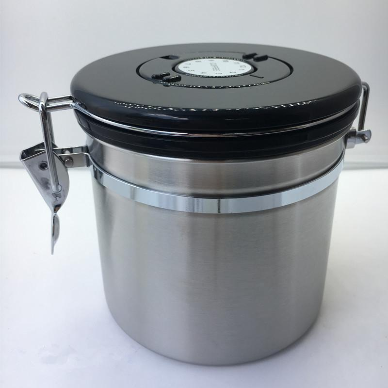 e05137f5a 2019 Realand Stainless Steel Coffee Canister Container Airtight ...