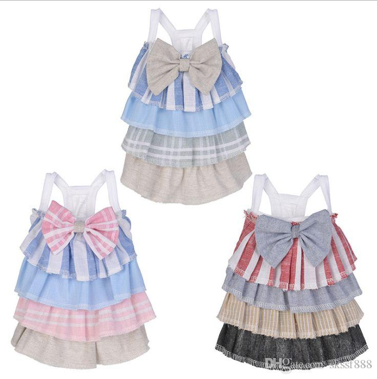 Dog Cake Skirt With Leisure Time Style Three Colors Sleeveless In Sping And Summer For Traveling And Decorating