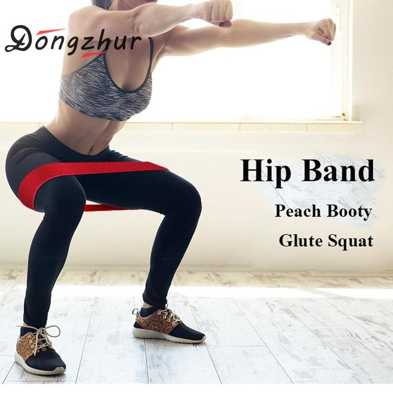 Fitness Equipments Hip Circle Deep Squat Hip Ring Elastic Band Fitness Rubber Band Female Resistance Circle Mens Yoga Sports Tension Belt