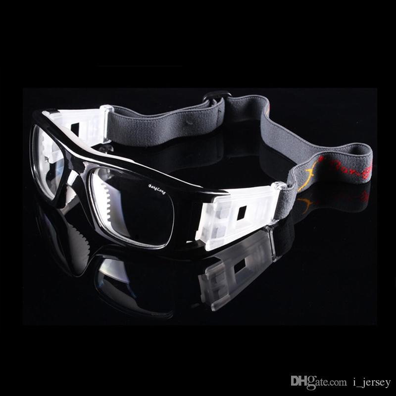 094033a4f4d0b Compre Lente Do PC Dos Homens De Basquete Esportes De Futebol Óculos De  Miopia Quadro Óculos De Segurança Óculos De Proteção Óculos De Prescrição  009 ...