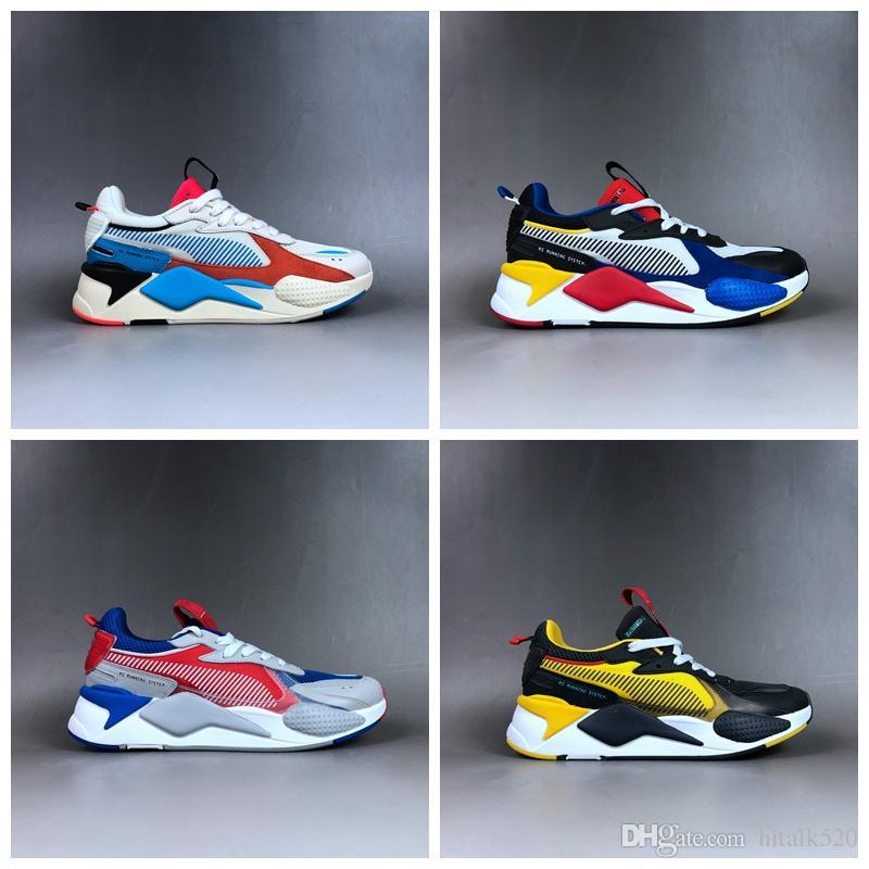 Puma rs Pumas Rs x Neue Marke RS X RS Reinvention Toys Herren Laufschuhe Hasbro Transformers Casual Damen rs x Designer Sneakers Papa Schuhe Größe