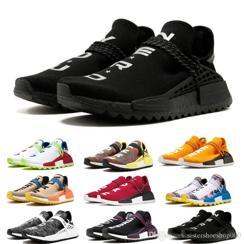 2019 Adidas NMD Human Race Pharrell Williams Hu Trail NERD