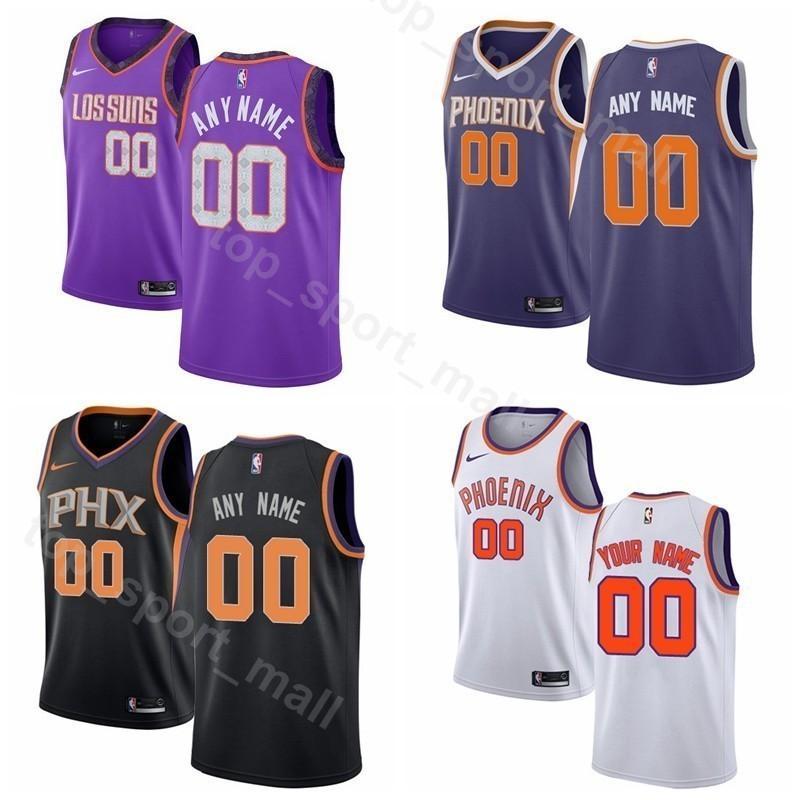 new products 5980e c5b87 Printed Men Youth Women Phoenix Basketball Suns DeAndre Ayton Jersey 22  Devin Booker 1 TJ Warren 12 Kelly Oubre Jr. 3 Tyler Johnson
