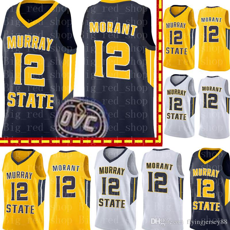 c2336045c670 NCAA 12 Ja Morant Murray State College Ncaa Jersey University ...
