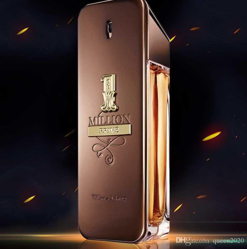 0619ff700fb5 STOCK mens perfume Health Beauty Fragrance Luxury perfume! rabanne Gold  Million Man perfume 100ml free drop shipping shipping