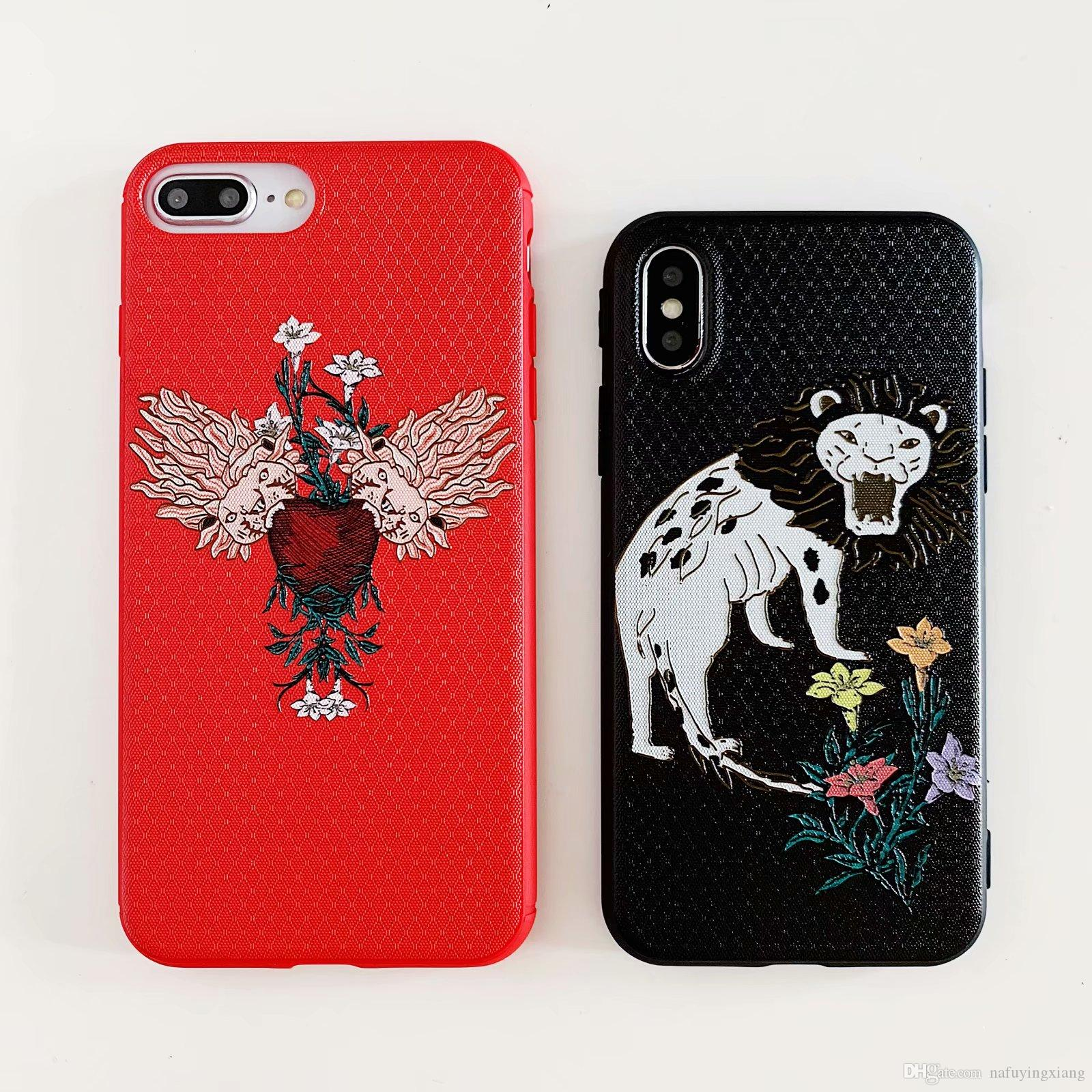 best service 90466 584f4 Applicable to Iphone Xr mobile phone case Ape head brand design for Iphone  6 7 8 Plus Xs new TPU PC mobile phone case