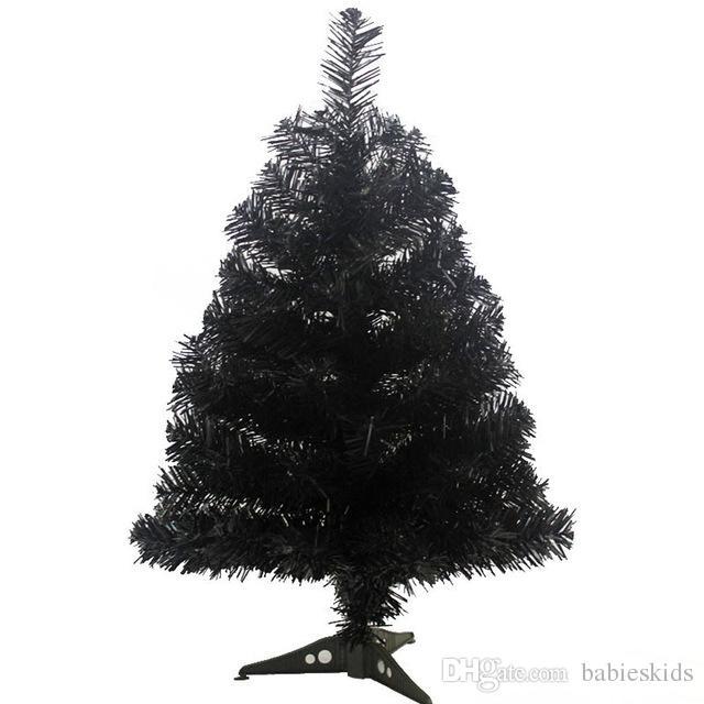 Schwarzer Weihnachtsbaum.90 Cm Kunstlicher Weihnachtsbaum Mit Kunststoff Stander Halter Basis Fur Weihnachten Home Party Neues Jahr Dekoration Schwarzer Baum