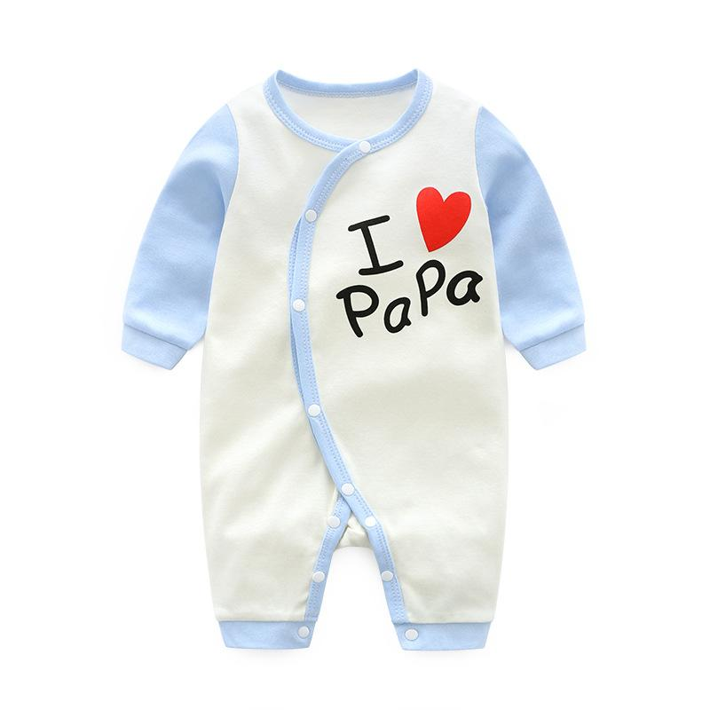 ed3f6f80df4c7 2019 Newborn Clothes Baby Girl Romper Cotton Long Sleeve Toddler Infant  Clothing Cartoon New Born Baby Boy Rompers Jumpsuit Children Kids Carters  From ...