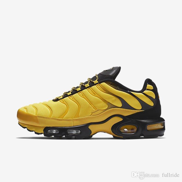 huge discount e8787 3a908 Compre Nike Air Max 2019 Nueva Llegada 95 TN Plus Yellow Frequency Pack  Sports Running Shoes Para Alta Calidad Para Hombre Mujer Entrenadores  Zapatillas De ...