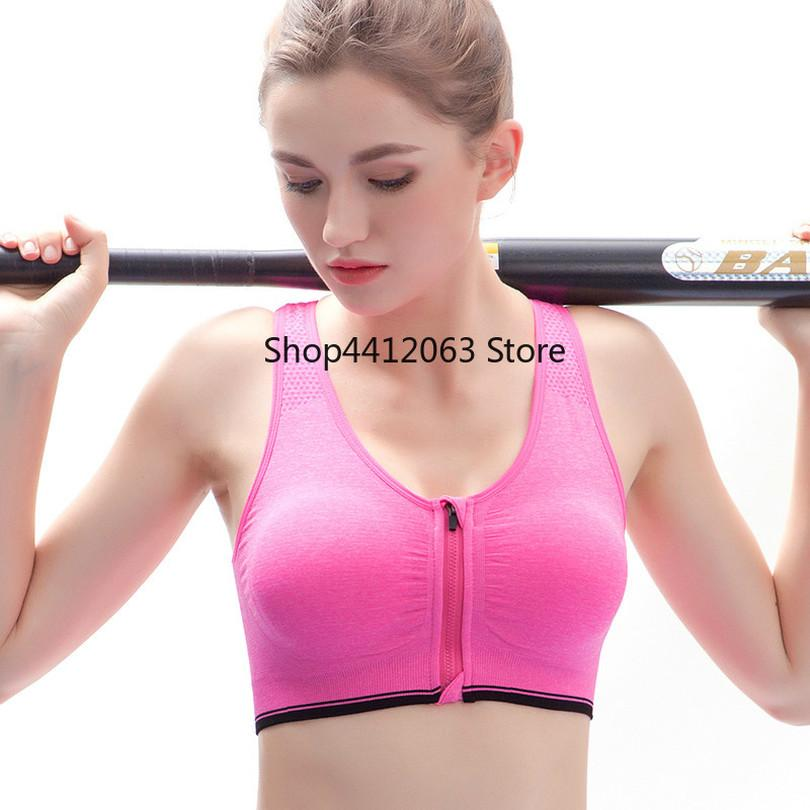 7e46dd1f0dc99 2019 Sports Bra Summer New Top Women Breathable Fitness Athletic Gym ...