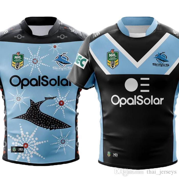 397b1b36b48 2019 AAA+ 2018 CRONULLA SHARKS Rugby Jerseys Home Away ALTERNATE NRL  National Rugby League Nrl Jersey Australia Cronulla Sharks Shirt S 3xl From  ...