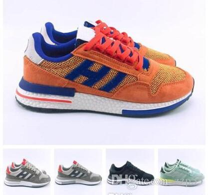 2019 New Men Runing Shoes Breathable Dragon Ball Originals ZX500 RM Goku  Sports Designer Shoe Trainers ZX 500 Best Sneakers Athletic Shoes From  Zzp55 2a6d71707