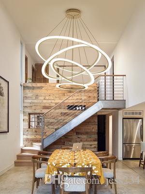 Moderne Led Lustre Pour Salle A Manger Salon Suspension Lampe Interieur A La Maison Led Plafonnier Lustre Appareils D Eclairage Ac110v 220vp