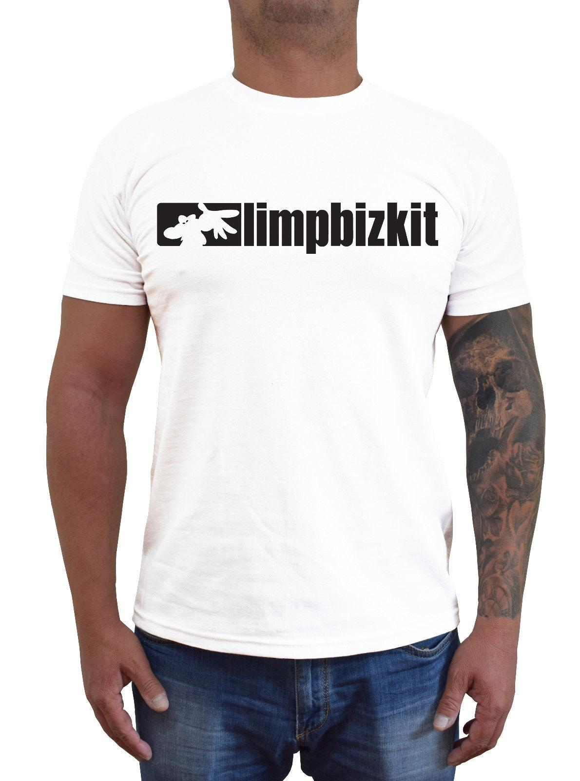45048128a LIMP BIZKIT Logo Ver. 2 T Shirt White S 5XLFunny Unisex Casual Top Rude T  Shirts Shirt Online From Dragontee, $12.96| DHgate.Com