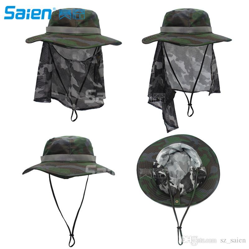 d6d11435164198 Women's Outdoor UPF 50+ Sun Hat Head Mesh Protective Cover Face Mask  Anti-Mosquito Bee Bug Insect Fly Mask Hat for Outdoor Fishing