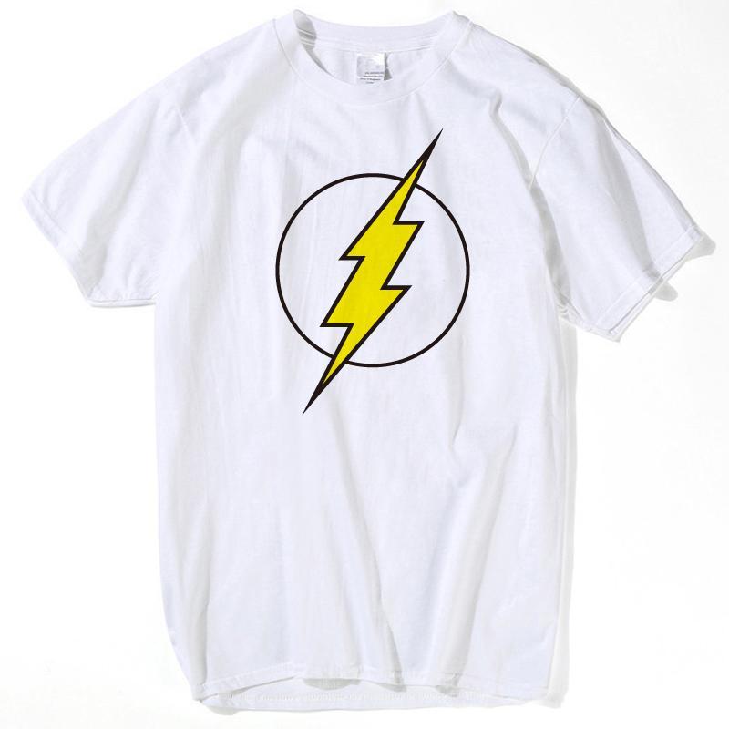 902ba6af9 The BIG BANG Theory T SHIRT The Flash Print Women And Men T Shirts Hot  Selling Casual Tee Shirt S~XXL Clothing Dropship Hip Hop The T Shirts  Shopping T ...