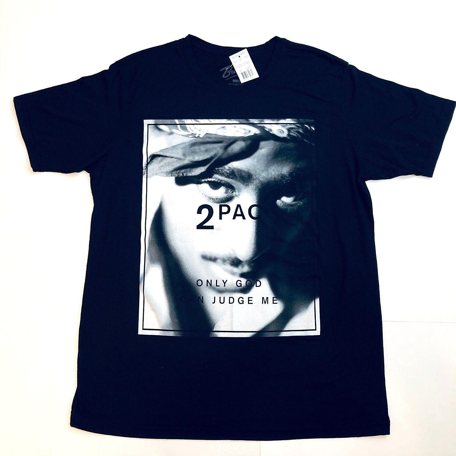 f9200d1c183 TUPAC SHAKUR Graphic T Shirt XL Black Only God Can Judge Me 2pac Hip Hop  NEW NWT Long Sleeve Shirt T Shirts Design From Besttshirts201801, $13.91|  DHgate.
