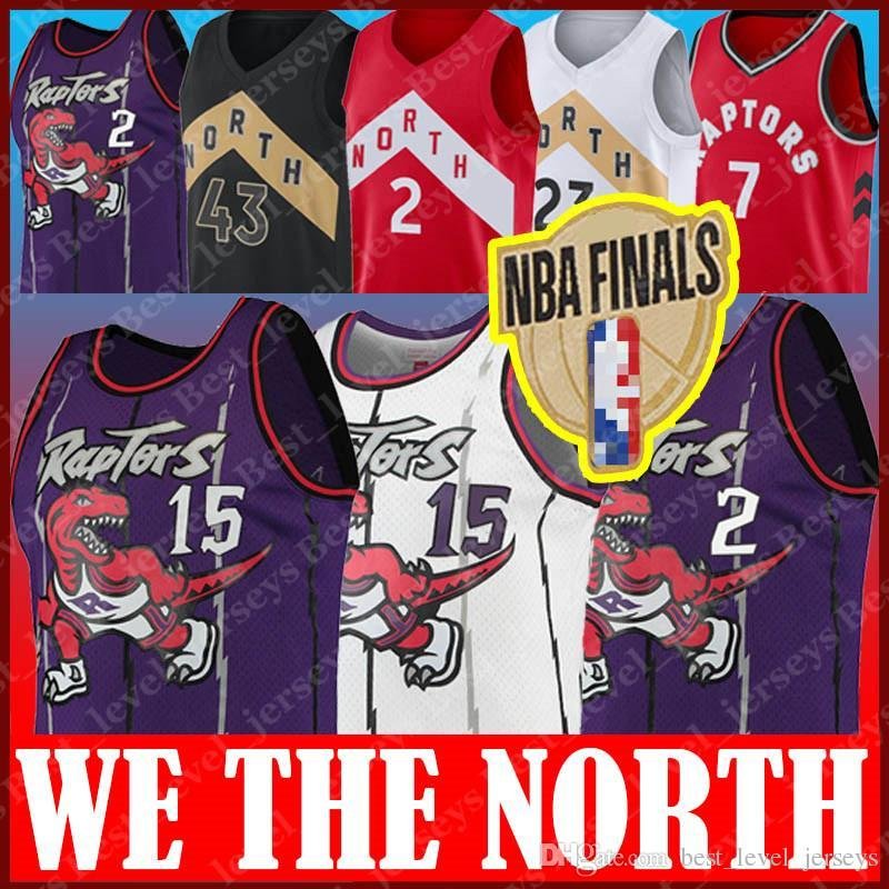 on sale 17ec8 9a8dd Toronto Vince Raptors Carter Retro Leonard Jersey Kawhi Fred Jerseys  VanVleet Kyle Jerseys Lowry Pascal Jersey Siakam We The North