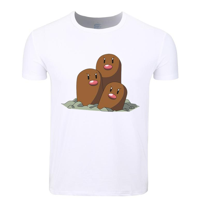 10afd89f3 Asian Size Men Women Print Go Pikachu Charizard Pokeball T Shirt O Neck  Short Sleeves Summer Casual Tshirt Hcp4095 Novelty T Shirts Fun T Shirts  From ...