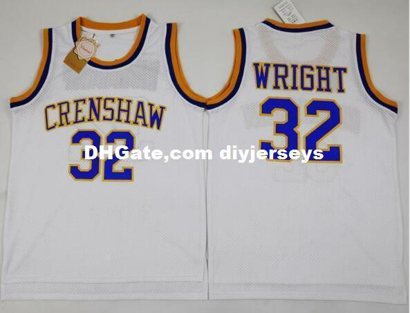 2019 Cheap Customize Stitched Monica Wright 32 Crenshaw High School McCall  Love Basketball Jersey White XS 5XL From Diyjerseys e7359fb6a