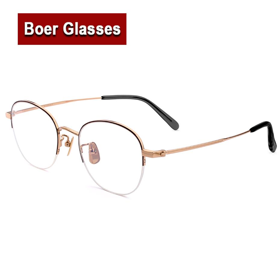 04f778d7c1 New Arrived Hot Sale High Quality Retro Pure Titanium Full Rim ...