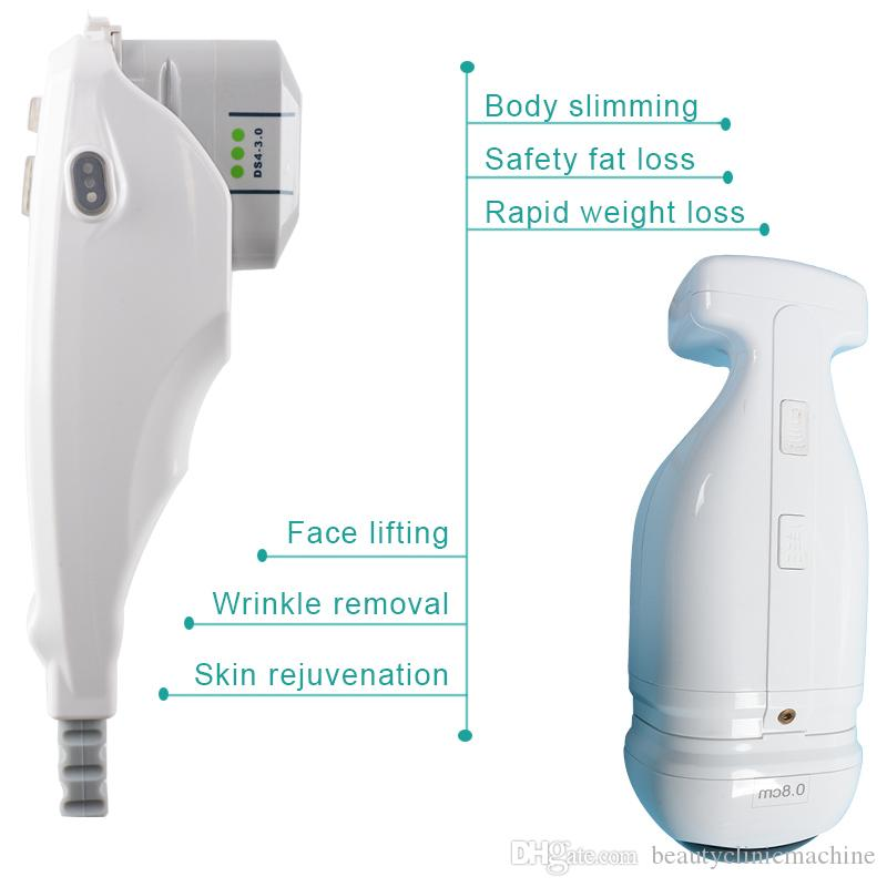 Taşınabilir hifu kişisel ultrason makinesi Hifu cilt kaldırma ve sıkma liposonix vücut zayıflama hifu ultrasonik makine yüz