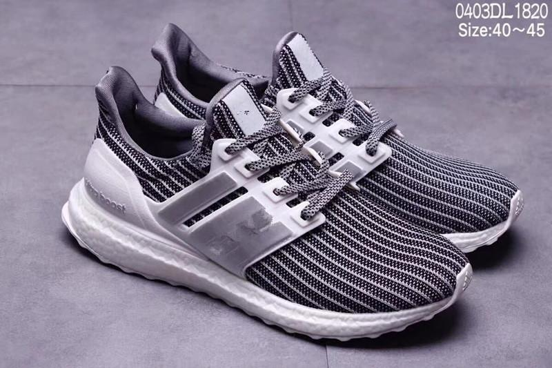 90e71f7a94374 2019 Ultra Boost 4.0 Casual Shoes Show Your Stripes Breast Cancer Awareness  CNY Black Multi Color Men Womens Real Boost Sneakers Size 36 45 From ...