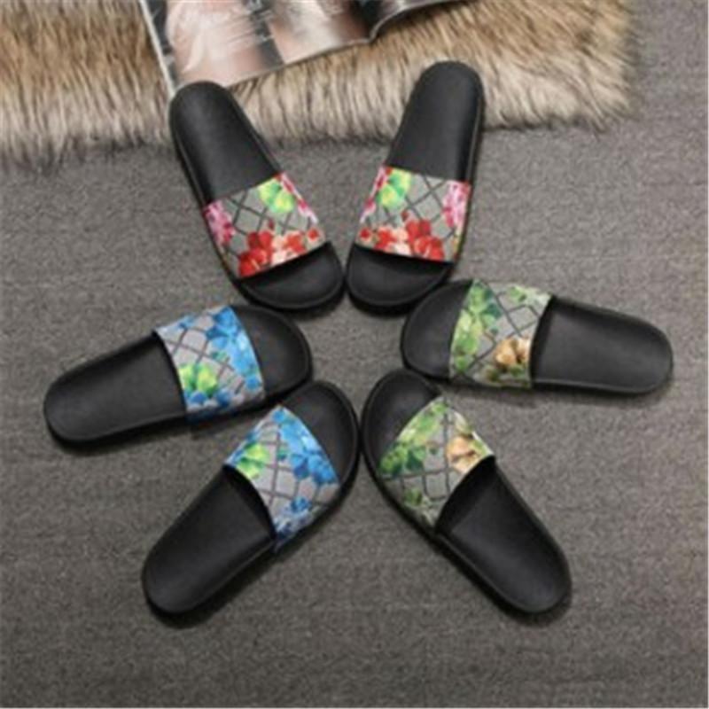 Zapatos Mujeres Hombre Planas Para Sandalias Resbaladizas Mujer Diseño Con Gruesas Anchas Hombres Zapatillas De oxCedB
