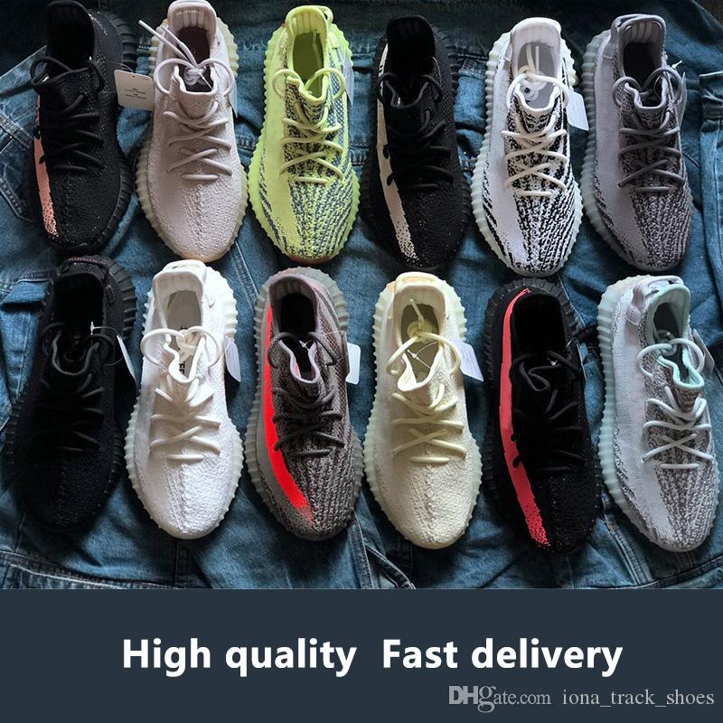 62b593f342e83 With Box 2019 best 3m reflective Yeezys Yezzy Yezzys Yeezy boost sply 350  Static Butter Sesame Cream White Blue Tint Bred Beluga Hyperspace True form  Clay ...