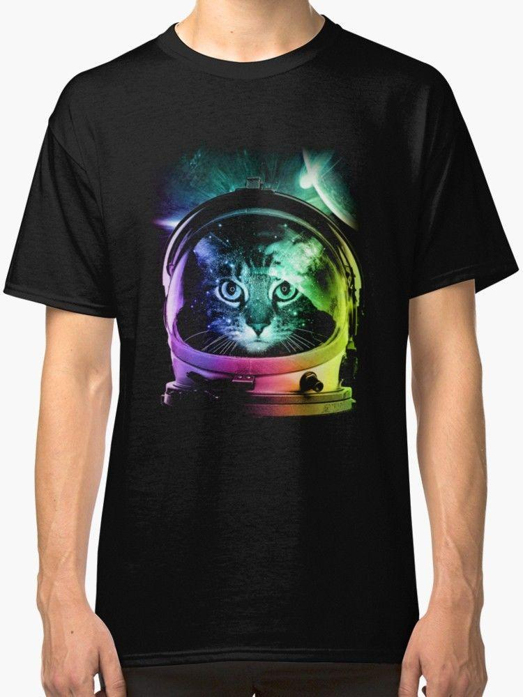 3722dde50d1 New Astronaut Cat VII Men'S Tee Shirt Size S 3XL RETRO VINTAGE ...