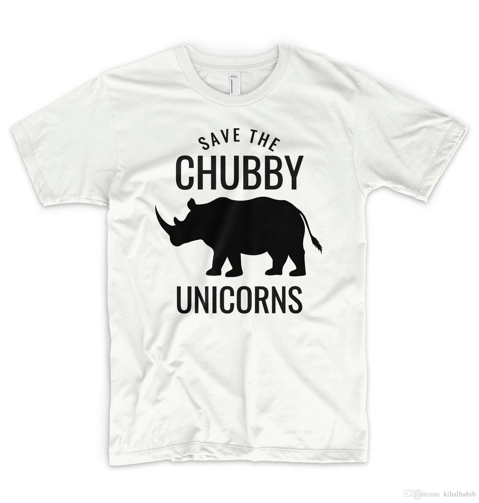 a186c676 Save The Chubby Unicorns T Shirt Novelty Rhino Funny Animals Are Friends  Vogue Design Your T Shirt Personalized T Shirt From Kihalhabib, $10.85|  DHgate.Com