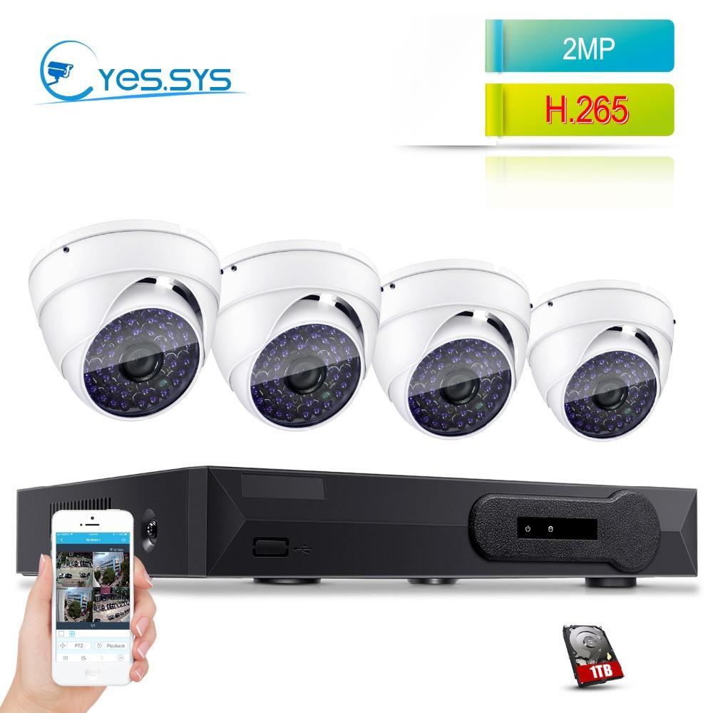 4a2dba63d Eyessys 2.0MP 1080P Night Vision IP Camera 4CH 4.0MP NVR CCTV POE ...